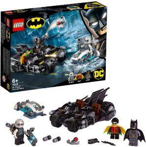 Sets de LEGO del Batmóvil - Batmobile - Juguete de construcción de LEGO de Batman de DC del Batmobile 76118 Batalla en la Batmoto contra Mr. Freeze