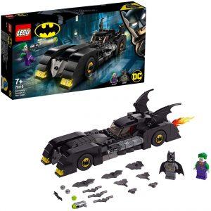 Sets de LEGO del Batmóvil - Batmobile - Juguete de construcción de LEGO de Batman de DC del Batmobile 76119 La persecución del Joker