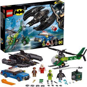 Sets de LEGO del Batmóvil - Batmobile - Juguete de construcción de LEGO de Batman de DC del Batmobile 76120 Batwing de Batman y el Asalto de Enigma