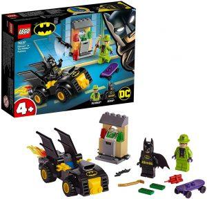 Sets de LEGO del Batmóvil - Batmobile - Juguete de construcción de LEGO de Batman de DC del Batmobile 76137 Batman y el Robo de Enigma del Batmóvil