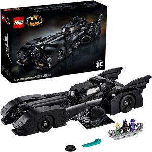 Sets de LEGO del Batmóvil - Batmobile - Juguete de construcción de LEGO de Batman de DC del Batmobile 76139 El Batmóvil de 1989 de Batman