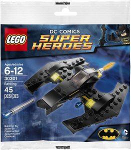 Sets de LEGO del Batwing - Juguete de construcción de LEGO de Batman de DC del Batwing 30301 del Batwing básico de Batman