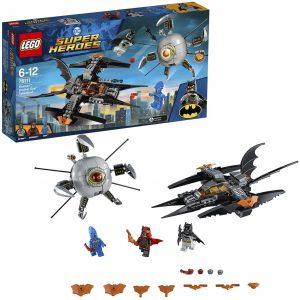 Sets de LEGO del Batwing - Juguete de construcción de LEGO de Batman de DC del Batwing 76111 del Batwing de Asalto Final contra Brother Eye