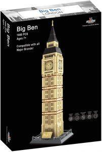 Sets de LEGO del Big Ben - Juguete de construcción de Apostrophe Games del Big Ben