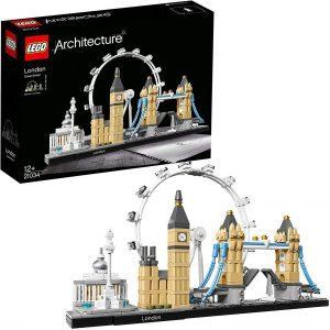 Sets de LEGO del Big Ben - Juguete de construcción de LEGO Architecture de la Ciudad de Londres 21034