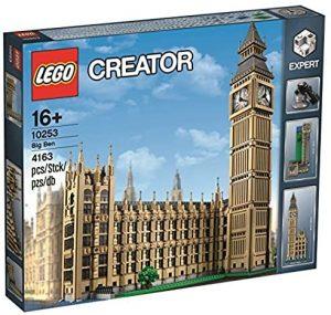 Sets de LEGO del Big Ben - Juguete de construcción de LEGO Creator del Big Ben 10253