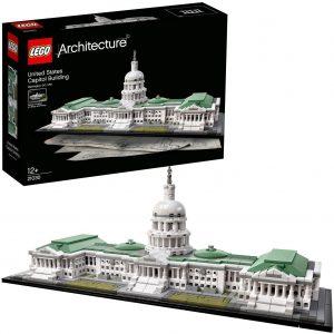 Sets de LEGO del Capitolio de los Estados Unidos de América - Juguete de construcción de LEGO Architecture del Capitolio de EEUU 21030