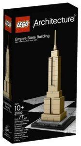 Sets de LEGO del Empire State Building - Juguete de construcción de LEGO Architecture de Empire State Building 21002