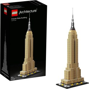 Sets de LEGO del Empire State Building - Juguete de construcción de LEGO Architecture de Empire State Building 21046