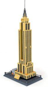 Sets de LEGO del Empire State Building - Juguete de construcción de LEGO Architecture del Empire State Building de Wange