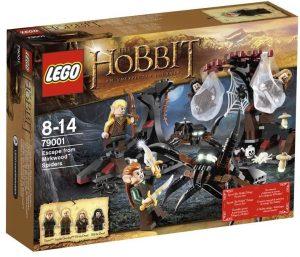 Sets de LEGO del Hobbit - Juguete de construcción de LEGO del Señor de los Anillos 79001 Huyendo de las arañas Mirkwood