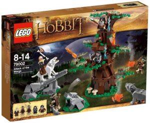 Sets de LEGO del Hobbit - Juguete de construcción de LEGO del Señor de los Anillos 79002 El Ataque de los Wargs