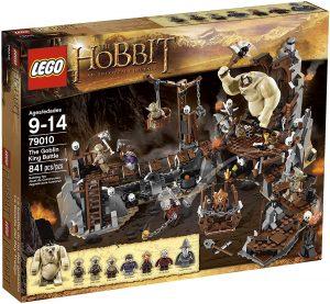 Sets de LEGO del Hobbit - Juguete de construcción de LEGO del Señor de los Anillos 79010 El Rey orco