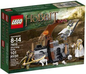 Sets de LEGO del Hobbit - Juguete de construcción de LEGO del Señor de los Anillos 79015 La Batalla del Rey Brujo