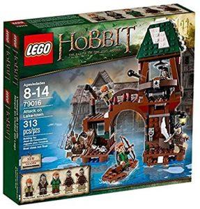 Sets de LEGO del Hobbit - Juguete de construcción de LEGO del Señor de los Anillos 79016 Ataque en la Ciudad del Lago