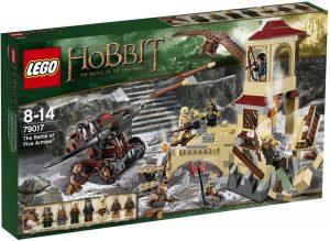 Sets de LEGO del Hobbit - Juguete de construcción de LEGO del Señor de los Anillos 79017 La Batalla de los Cinco Ejércitos
