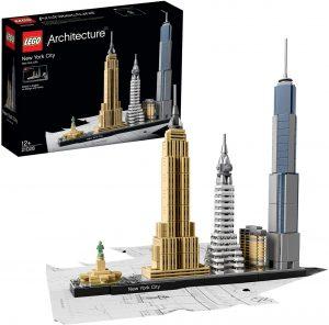 Sets de LEGO del Museo Guggenheim - Juguete de construcción de LEGO Architecture de la Ciudad de Nueva York 21028