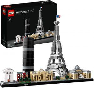 Sets de LEGO del Museo del Louvre - Juguete de construcción de LEGO Architecture de la ciudad de París 21044
