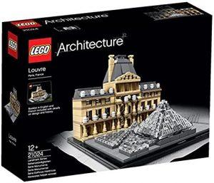 Sets de LEGO del Museo del Louvre - Juguete de construcción de LEGO Architecture del Museo del Louvre 21024