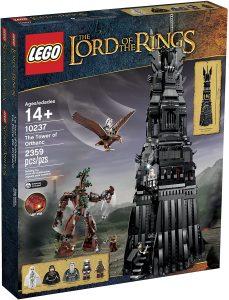Sets de LEGO del Señor de los Anillos - The Lord of The Rings - Juguete de construcción de LEGO del Señor de los Anillos 10237 la Torre de Orthanc