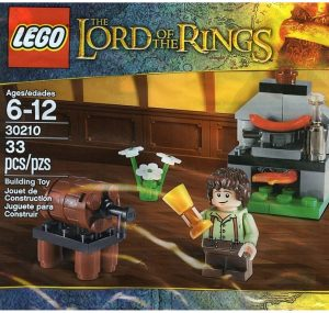 Sets de LEGO del Señor de los Anillos - The Lord of The Rings - Juguete de construcción de LEGO del Señor de los Anillos 30210 Frodo cocinando