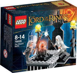 Sets de LEGO del Señor de los Anillos - The Lord of The Rings - Juguete de construcción de LEGO del Señor de los Anillos 79005 El Duelo de los Magos