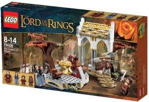 Sets de LEGO del Señor de los Anillos - The Lord of The Rings - Juguete de construcción de LEGO del Señor de los Anillos 79006 El Concilio de Elrond