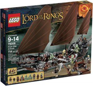 Sets de LEGO del Señor de los Anillos - The Lord of The Rings - Juguete de construcción de LEGO del Señor de los Anillos 79008 El Barco fantasma