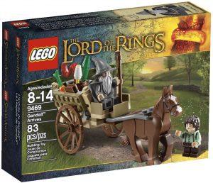 Sets de LEGO del Señor de los Anillos - The Lord of The Rings - Juguete de construcción de LEGO del Señor de los Anillos 9469 La llegada de Gandalf