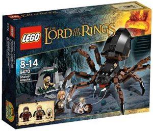 Sets de LEGO del Señor de los Anillos - The Lord of The Rings - Juguete de construcción de LEGO del Señor de los Anillos 9470 El Ataque de Ella-Laraña