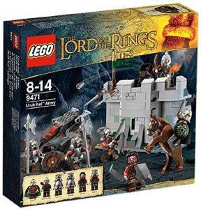 Sets de LEGO del Señor de los Anillos - The Lord of The Rings - Juguete de construcción de LEGO del Señor de los Anillos 9471 El ejército Uruk-Hai