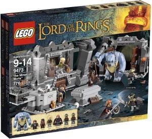 Sets de LEGO del Señor de los Anillos - The Lord of The Rings - Juguete de construcción de LEGO del Señor de los Anillos 9473 Las Minas de Moria