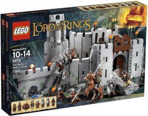 Sets de LEGO del Señor de los Anillos - The Lord of The Rings - Juguete de construcción de LEGO del Señor de los Anillos 9474 La Batalla del Abismo de Helm