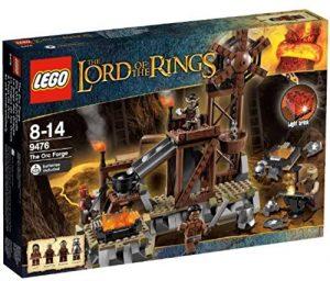 Sets de LEGO del Señor de los Anillos - The Lord of The Rings - Juguete de construcción de LEGO del Señor de los Anillos 9476 La forja de los orcos