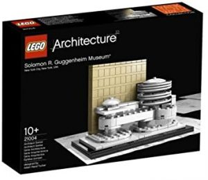Sets de LEGO del Solomon R. Guggenheim Museum - Juguete de construcción de LEGO Architecture del Museo Guggenheim 21004
