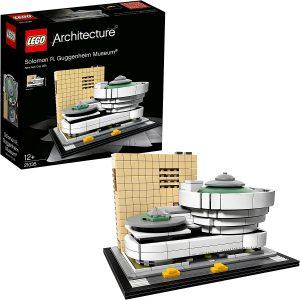 Sets de LEGO del Solomon R. Guggenheim Museum - Juguete de construcción de LEGO Architecture del Museo Guggenheim 21035