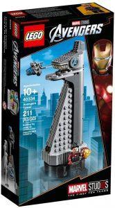 Torre de los Vengadores de LEGO Marvel Super Heroes 40334 - Juguete de construcción de LEGO de Marvel de la Torre de los Vengadores