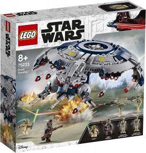 Yoda LEGO Star Wars - Juguete de construcción de LEGO de Cañonera Droide 75233 de Star Wars