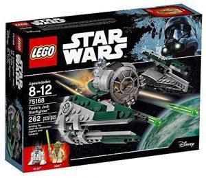 Yoda LEGO Star Wars - Juguete de construcción de LEGO de Nave de Yoda 75168 de Star Wars