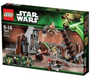 Yoda LEGO Star Wars - Juguete de construcción de LEGO de Yoda vs el Conde Dooku 75017 de Star Wars