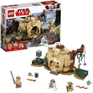 Yoda LEGO Star Wars - Juguete de construcción de LEGO de la Cabaña de Yoda 75208 de Star Wars