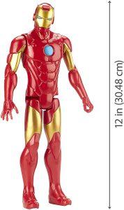Figura Iron man de Titan Hero Series - Figuras de acción y muñecos de Iron man de Marvel