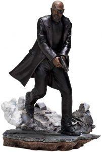 Figura Nick Furia de Iron Studios - Figuras de acción y muñecos de Nick Fury de Marvel