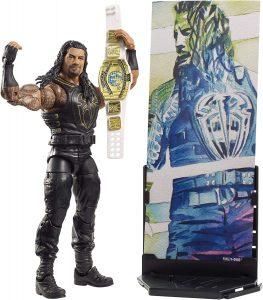 Figura Roman Reigns de Mattel Elite de WWE - Figuras coleccionables de Roman Reigns de WWE