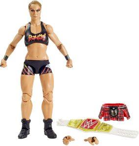 Figura Ronda Rousey Elite de WWE - Figuras coleccionables de Ronda Rousey de WWE