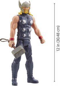 Figura Thor clásico de Titan Hero - Figuras de acción y muñecos de Thor de Marvel