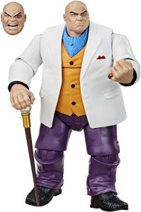 Figura Wilson Fisk de Hasbro - Figuras de acción y muñecos de Kingpin de Marvel