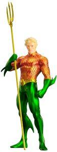 Figura de Aquaman de Kotobukiya - Figuras de acción y muñecos de Aquaman de DC