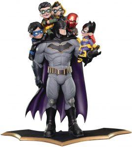 Figura de Batman de Quantum Mechanix - Figuras de acción y muñecos de Batman de DC de la liga