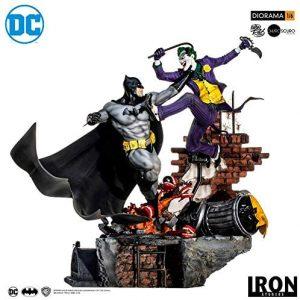 Figura de Batman vs Joker de Iron Studios - Figuras de acción y muñecos de Batman de DC